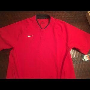 Nike Short sleeve hot jacket NWT